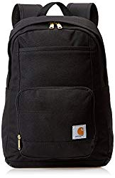 Carhartt Legacy Classic Work Backpack with Padded Laptop Sleeve, Black