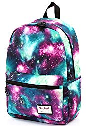 hotstyle TRENDYMAX Galaxy Backpack Cute for School | 16″x12″x6″ | Holds 15-inch Laptop | Green
