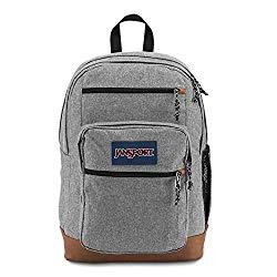 JanSport JS0A2SDD3CL Cool Student Backpack, Grey Letterman Poly
