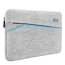 Lacdo 13.3 inch Laptop Sleeve Case for 13 inch MacBook Air | MacBook Pro Retina Late 2012 – Early 2016 | 12.9 Inch iPad Pro 2017 | Surface Book | ASUS ZenBook | Dell HP Chromebook Notebook Bag, Gray