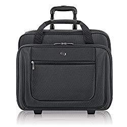 Solo Bryant 17.3 Inch Rolling Laptop Case, Black