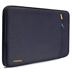 tomtoc 360° Protective 13-13.5 Inch Laptop Sleeve Compatible with Microsoft 13.5″ Surface Book   13.5″ Surface Laptop, with CornerArmor Patent & Accessory Pocket