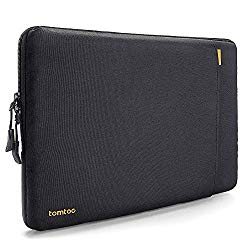tomtoc 360° Protective Laptop Sleeve Compatible with13 inch New MacBook Pro A1989 A1706 A1708 USB-C | Dell XPS 13, Notebook Bag Case 13″ with Accessory Pocket & CornerArmor Patent