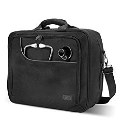 USA Gear Medical Equipment Supplies Bag for Doctors, Pharmaceutical Reps, Nurses and Vet Techs Padded Shoulder Strap & Adjustable Storage Compartments for Prescription Medication