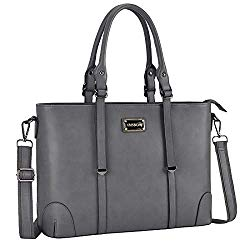 ZMSnow Laptop Tote Bag, Professional Business Computer Briefcase Fits 15.6 Inch Laptop for Work