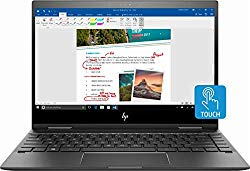 HP Envy x360 2-in-1 13.3″ FHD Touch-Screen Premium Build Laptop Computer, AMD Ryzen 5 2500U up to 3.6GHz, 8GB RAM, 128GB SSD, WiFi, Bluetooth, Windows 10