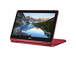 2018 Flagship Dell Inspiron 11.6″ Business 2 in 1 HD Touchscreen Laptop/Tablet – AMD Dual-Core A9-9420e 8GB DDR4 500GB HDD AMD Radeon R5 MaxxAudio Bluetooth 802.11bgn HDMI HD Webcam USB 3.1 Win 10-Red