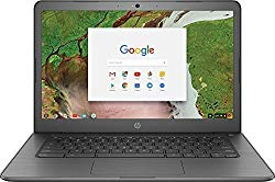 2018 HP 14 Chromebook 14″ HD Touchscreen Widescreen Laptop Computer, Intel Celeron N3350 up to 2.4GHz, 4GB Memory, 32GB eMMC Flash Memory, 802.11ac, Bluetooth, USB-C 3.1, No Optical Drive, Chrome OS