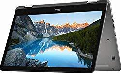 2019 Dell Inspiron 7000 17.3″ FHD Touchscreen 2 in 1 Laptop Computer, 8th Gen Quad-Core i7-8550U up to 4.0GHz, 32GB DDR4, 2TB HDD + 512GB SSD, MX150 2GB, 802.11ac WiFi, Bluetooth, USB-C, Windows 10