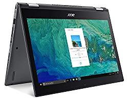 Acer Spin 5 SP513-52N-85LZ, 13.3″ Full HD Touch, 8th Gen Intel Core i7-8550U, Alexa Built-in, 8GB DDR4, 256GB SSD, Convertible, Steel Gray