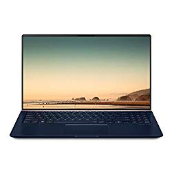 "ASUS ZenBook 15 Ultra-Slim Compact Laptop 15.6"" FHD 4-Way Narrow Bezel, Intel Core i7-8565U Up to 4.1GHz, 16GB DDR4, 512GB PCIe SSD, GTX 1050 Max-Q, IR Camera, Windows 10 – UX533FD-DH74, Royal Blue"