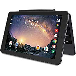 2019 RCA Galileo Pro 2-in-1 11.5″ Touchscreen High Performance Tablet PC, Intel Quad-Core Processor 32GB SSD 1GB RAM WiFi Bluetooth Webcam Detachable Keyboard Android 6.0 Black