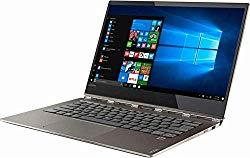 Lenovo Yoga 920 2-in-1 Ultrabook Laptop, 13.9″ FHD IPS Touchscreen, Intel Quad-Core i7-8550U, 8GB DDR4 Ram, 256GB SSD, Fingerprint Reader, Windows 10, Bronze (Certified Refurbished)
