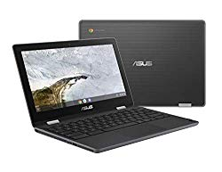 ASUS Chromebook Flip C214MA-YS02T 11.6″ Ruggedized and Water Resistant Chromebook, 360 Touchscreen Convertible, Intel N4000, 4GB DDR4 RAM, 32GB Storage, Mil Std Design, Chrome OS