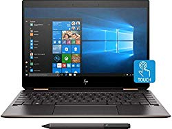 HP Spectre x360 2019 GEM Cut 13.3″ FHD Touch Laptop, Intel i7-8565U, 16GB RAM, 512GB SSD, Bang & Olufsen Audio, Fingerprint Reader, HP Stylus, Dark Ash, 3 Years McAfee, Win 10 Pro(Pre-Installed)