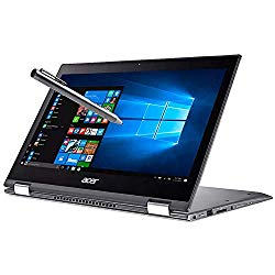 Acer Spin 5 13.3″ WLED-Backlit FHD IPS Touch 2-in-1 Laptop, Intel Core i7-8550U, 8GB DDR4, 512GB SSD, Webcam, Bluetooth, USB 3.1, HDMI, Backlit Keyboard, Fingerprint Reader, Active Stylus, Windows 10