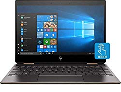 HP Spectre x360 13-ap0013dx Convertible 13.3inch Full HD Touchscreen Notebook Computer, Intel Core i7-8565U 1.8GHz, 8GB RAM, 256GB SSD, Windows 10 Home, Ash Silver –  by HP(Renewed)