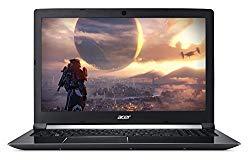Acer Aspire 7 Casual Gaming Laptop, 15.6″ Full HD IPS Display, Intel 6-Core i7-8750H, NVIDIA GeForce GTX 1050Ti 4GB, 8GB DDR4, 128GB SSD + 1TB HDD, Fingerprint Reader, Windows 10 64bit, A715-72G-71CT