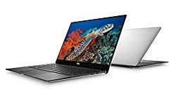 Dell XPS 13 9370 Laptop: Core i7-8550U, 13.3″ UHD 4K Touch Display, 256GB SSD, 8GB RAM, Fingerprint Reader, Backlit Keyboard, Windows 10 (Silver)
