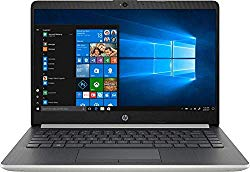 Newest 2019 Flagship HP 14″ Laptop Intel Pentium Gold 4GB Ram 128GB SSD Ash Silver Keyboard Frame