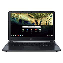 Acer Chromebook 15, Intel Atom X5-E8000 Quad-Core Processor, 15.6″ HD, 4GB LPDDR3, 16GB eMMC, CB3-532-108H
