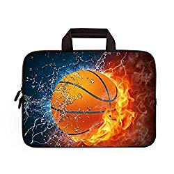 11″ 11.6″ 12″ 12.1″ 12.5″ inch Laptop Carrying Bag Chromebook Case Notebook Ultrabook Bag Tablet Cover Neoprene Fit Samsung Google Acer HP DELL Lenovo Asus (11 11.6 12.1 12.2 inch, Basketball)