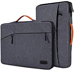 15.6 Inch Waterpoof Laptop Sleeve Case for Acer Aspire 5 A515/Aspire E 15/Chromebook 15, HP Envy x360/OMEN/Pavilion 15, MacBook Pro 16.1 inch, MSI, DELL, ASUS, 15.6″ Protective Notebook Briefcase Bag