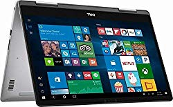 2018 Dell Inspiron 15 7000 15.6″ 2 in 1 FHD Touchscreen Laptop Computer, 8th Gen Intel Quad-Core i5-8250U up to 3.40GHz, 8GB DDR4, 256GB SSD, 2×2 802.11ac WiFi, Backlit Keyboard, Windows 10