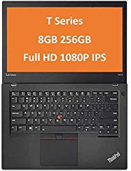 2019 Lenovo ThinkPad T470 14″ IPS Full HD FHD (1920×1080) Business Laptop (Intel Core i5-6300U, 8GB DDR4 RAM, 256GB PCIe NVMe M.2 SSD) Thunderbolt, Type-C, HDMI RJ-45, Windows 10 Professional 64 Bit
