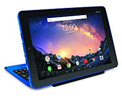 2019 RCA Galileo Pro 2-in-1 11.5″ Touchscreen High Performance Tablet PC, Intel Quad-Core Processor 32GB SSD 1GB RAM WiFi Bluetooth Webcam Detachable Keyboard Android 6.0 Blue