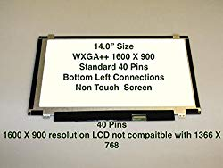 Au Optronics B140rw02 V.1 Replacement LAPTOP LCD Screen 14.0″ WXGA++ LED DIODE (Substitute Only. Not a )