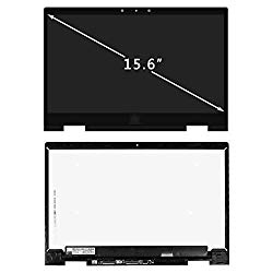 FirstLCD ISP LCD Display Touch Screen Replacement fit Pen Touch for HP Envy X360 15M-BP111DX 15M-BP112DX 15M-BP011DX 15M-BP012DX 15M-BQ021DX 15M-BQ121DX 925736-001 +Digitizer Board+Bezel FHD