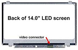 Generic 14″ Screen compatible with HP Stream STREAM 14-AX020WM 14-AX Series Replacement LCD Screen for Laptop LED HD Glossy