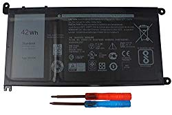 Gomarty WDX0R Laptop Battery for Dell Inspiron 13 5368 5378 5379 7368 7378 Inspiron 14-7460 Inspiron 15 5565 5567 5568 5578 7560 7570 7579 7569 P58F Inspiron 17 5765 5767 FC92N 3CRH3 T2JX4 CYMGM
