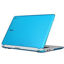 iPearl mCover Hard Shell Case for 15.6″ Acer Chromebook 15 C910 / CB5-571 / CB3-531 / CB3-532 Series Laptop (Aqua)