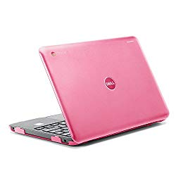 iPearl mCover Hard Shell Case for 2017 11.6″ Dell Chromebook 11 3180 Series Laptop (NOT Compatible with 210-ACDU / 3120/3189 Series) (Pink)