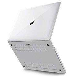 Kuzy – MacBook Pro 16 inch Case 2019 Release A2141 Plastic Hard Shell for New 16 inch MacBook Pro Case with Touch Bar Soft Touch – Clear