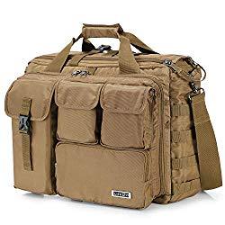 Lifewit 17″ Men's Military Laptop Messenger Bag Multifunction Tactical Briefcase Computer Shoulder Handbags