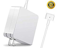 Mac Book Air Charger, 45W T-Tip AC 2 Power Adapter Charger for MacBook Air 11-Inch and 13-Inch (for MacBook Air Released After Mid 2012)