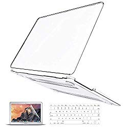 MacBook Pro 13 Case 2019 2018 2017 2016 Release A2159/A1989/A1706/A1708, Anban Ultra-Slim Crystal Clear Plastic Hard Shell Cover with Keyboard & Screen Protector for Mac Pro 13 With/No Touch Bar