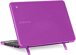 mCover Hard Shell Case for 2018 11.6″ Samsung Chromebook 3 XE501C13 Series (NOT Compatible with Older XE303C12 / XE500C12 / XE503C12 / XE500C13 Models) Laptop (Purple)