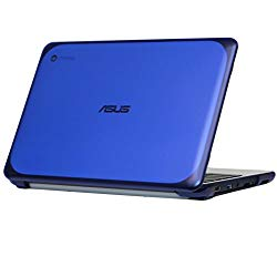 mCover iPearl Hard Shell Case for 11.6″ ASUS Chromebook C202SA Series Laptop – Blue