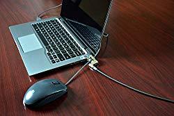 Noble Locks TZ08T Low Profile Wedge Lock with Flat Key