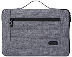 Procase 14-15.6 Inch Laptop Sleeve Case Cover Bag for 2019 MacBook Pro 16″ A2141, Most 14 15 Inch Laptop Ultrabook Notebook Chromebook Lenovo Dell Toshiba HP ASUS Acer -Grey