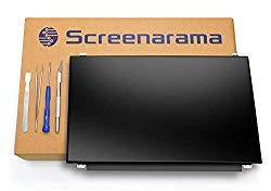 SCREENARAMA New Screen Replacement for N140BGE-L43 REV.C1, HD 1366×768, Matte, LCD LED Display with Tools