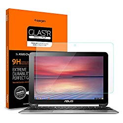 Spigen Tempered Glass Screen Protector Designed for ASUS Chromebook Flip 10.1 inch C100PA-DB02 (1PACK)