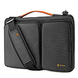 tomtoc 360 Protective Laptop Shoulder Bag for 15.6 Inch Acer Aspire 3/5/7 Laptop, HP Pavilion 15.6, Dell Inspiron 15 3000, 15.6 ASUS ROG Zephyrus and ASUS Lenovo Samsung 15 Inch Notebook