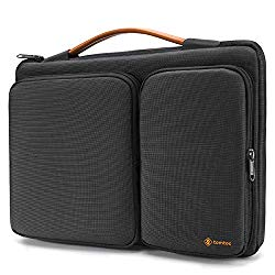 tomtoc 360 Protective Laptop Sleeve for 12.3 Inch Surface Pro X/7/6/5/4, 13-inch New MacBook Air Retina A1932, New MacBook Pro A2159, A1989 A1706 A1708, 12.9 iPad Pro 3 Gen, Water Repellent Laptop Bag