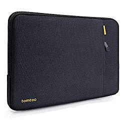 tomtoc 360 Protective Laptop Sleeve for 13.3 Inch Old MacBook Air, Old MacBook Pro Retina 2012-2015, Spill-Resistant 13 Inch Laptop Case with Accessory Pocket, YKK Zipper Bag