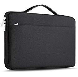ZINZ 15-15.6 Inch Laptop Sleeve for All Model MacBook 15″ & Most 15-15.6″ Dell/Asus/Acer/HP/Toshiba/Lenovo Spill-Resistant Ultrabook Netbook Tablet Bag Case Cover -Black